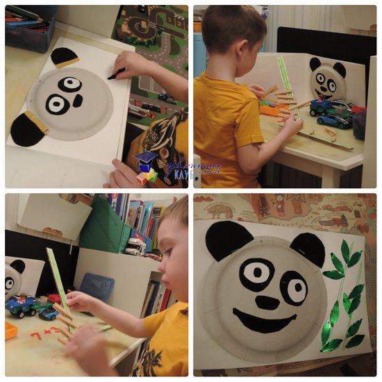География для детей Панда