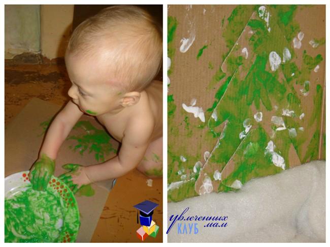 3-D аппликация для малышей от Ильи Кардашина