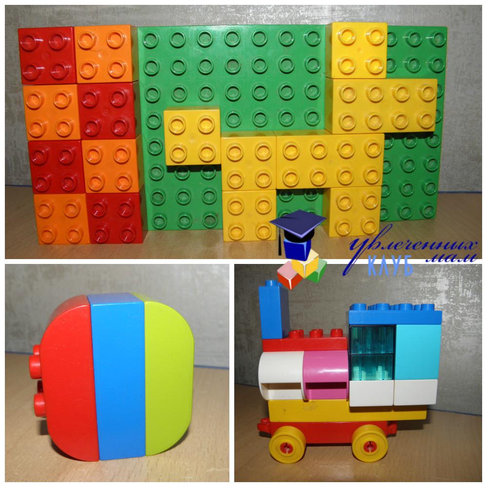 Лего-поделки (Lego Duplo) - Подарил мне Дед Мороз