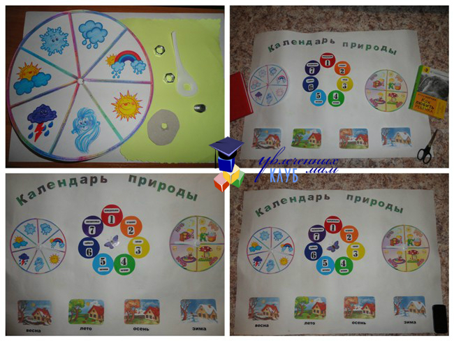 Календарь погоды для малышей