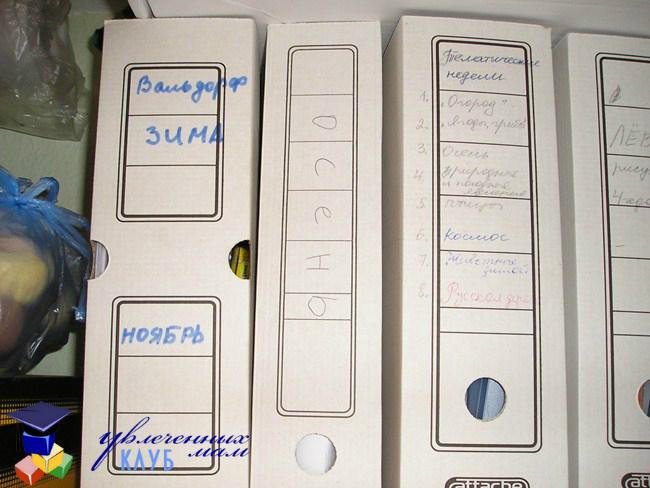 Печатные материалы для ТН в больших папках