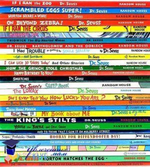 Список книг Dr.Seuss