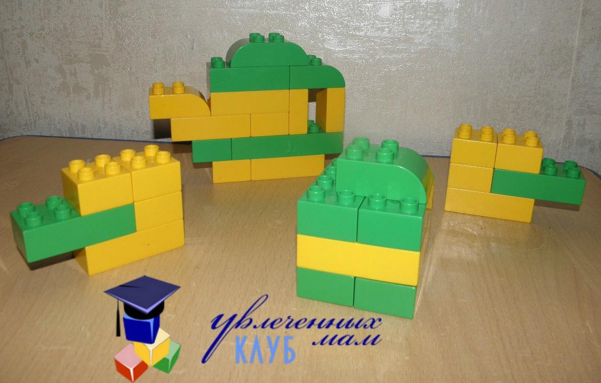 Строим из Lego Duplo - Чаепитие - Чайный сервиз