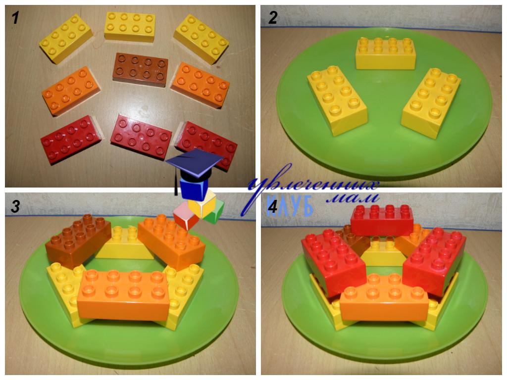 Строим из Lego Duplo - Чаепитие - Калач