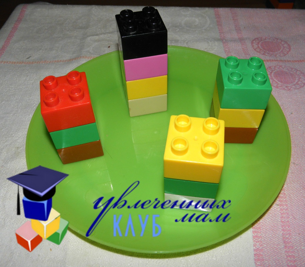 Строим из Lego Duplo - Чаепитие - Канапе