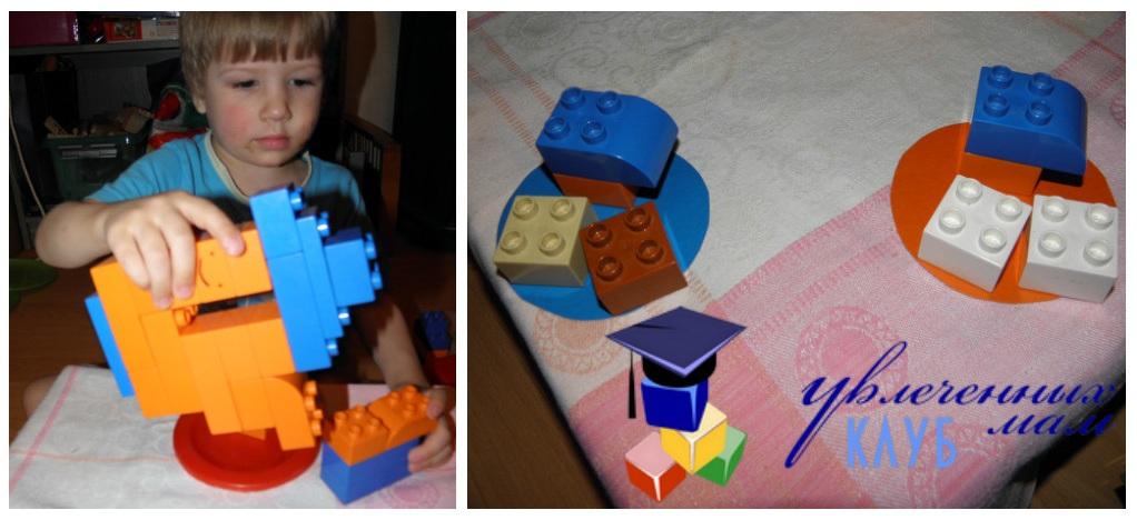 Строим из Lego Duplo - Чаепитие - Кофе с сахаром