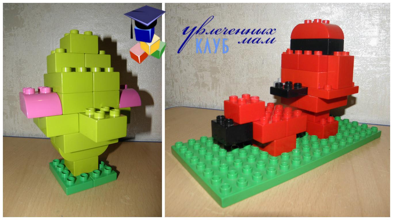Строим из Lego Duplo - Чаепитие - Самовары