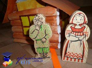 Бабка и дед в сказке Колобок