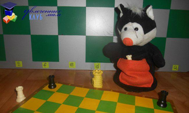 Шахматы для детей. Ладья: ход и взятие