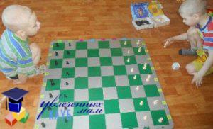 Начальное положение фигур на шахматной доске