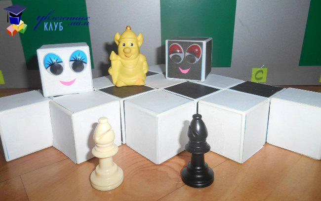 Шахматы для детей. Слон