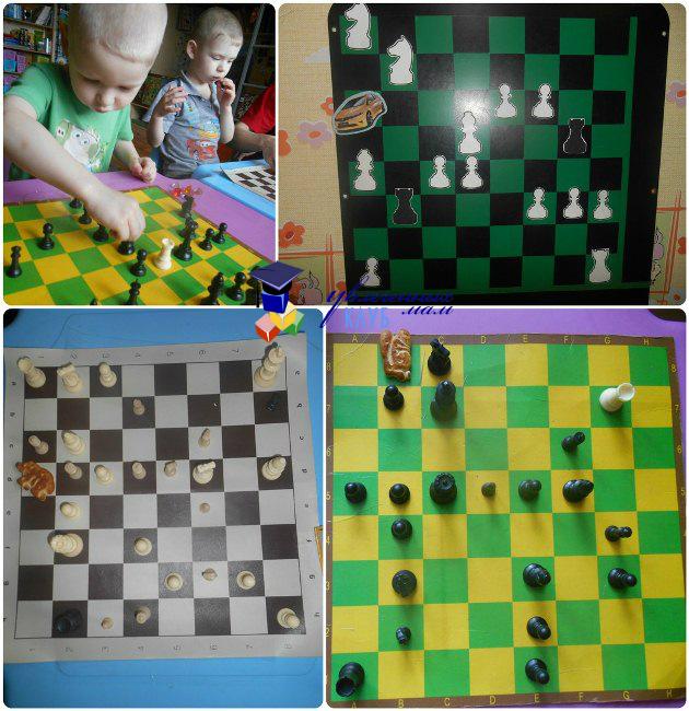 Сюжетные игры с шахматами