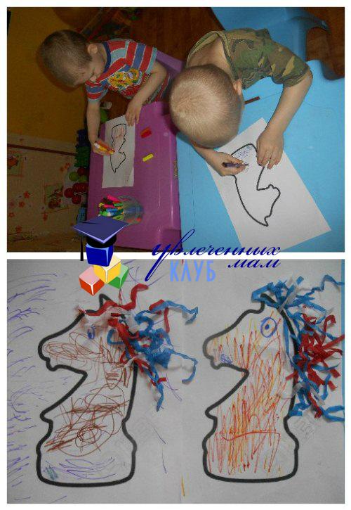 Творчество с конем