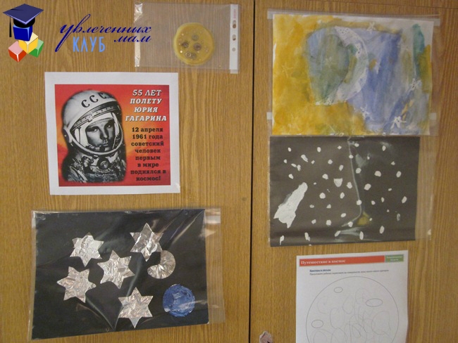 Выставка творческих работ на тему Космос