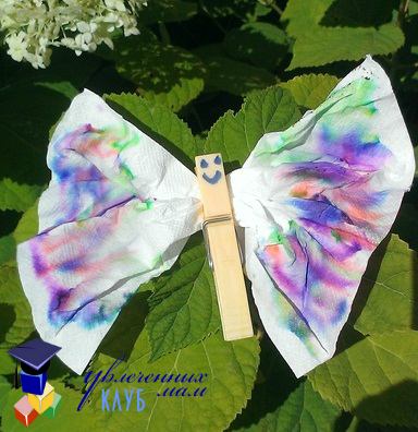 Летнее творчество Бабочка