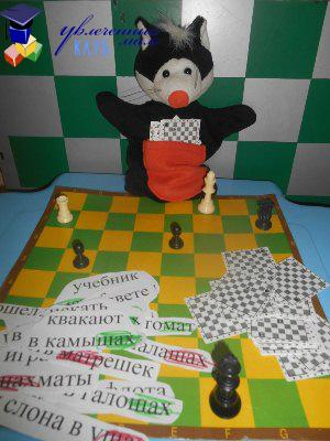 Шахматы для детей: рокировка, шах и мат