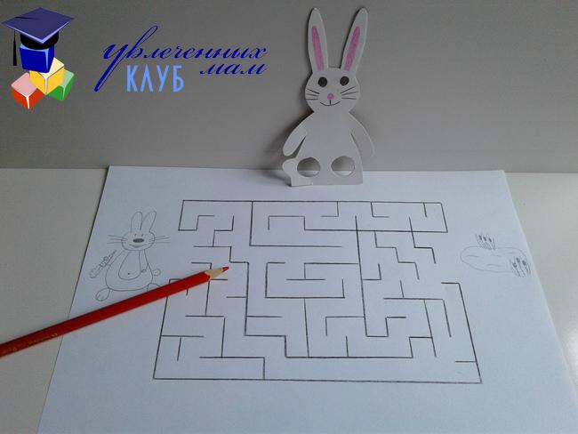 лабиринт для зайца