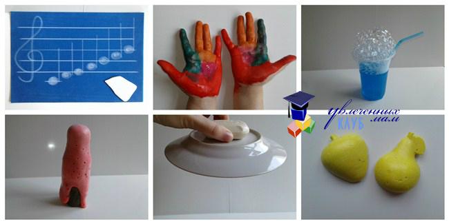 Опыты для детей с мылом