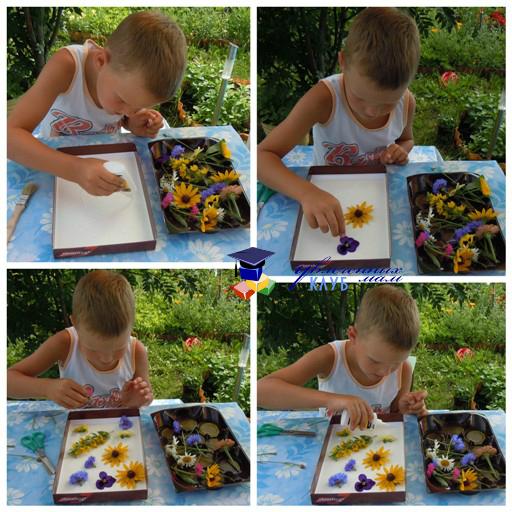 Цветочное панно2