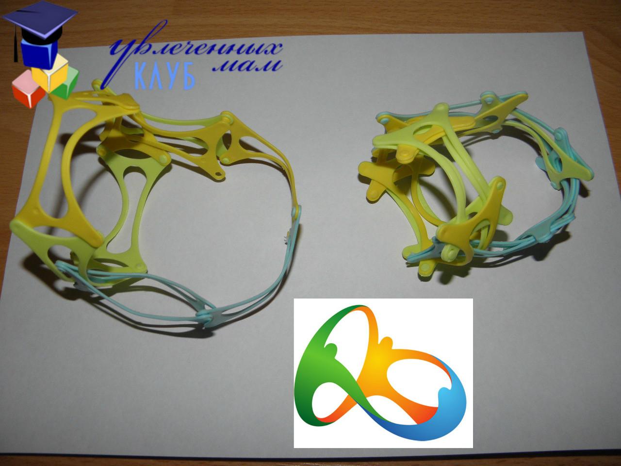 Встречаем Олимпийские Игры - Логотип Олимпиады в Рио