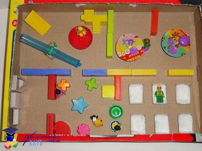 Макет детского сада