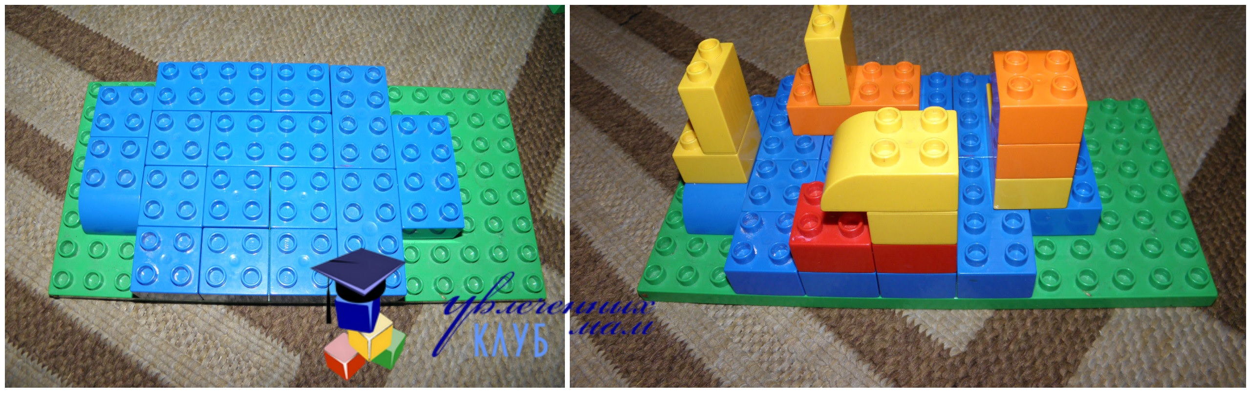 Провожаем осень с Lego Duplo - Осенние кораблики