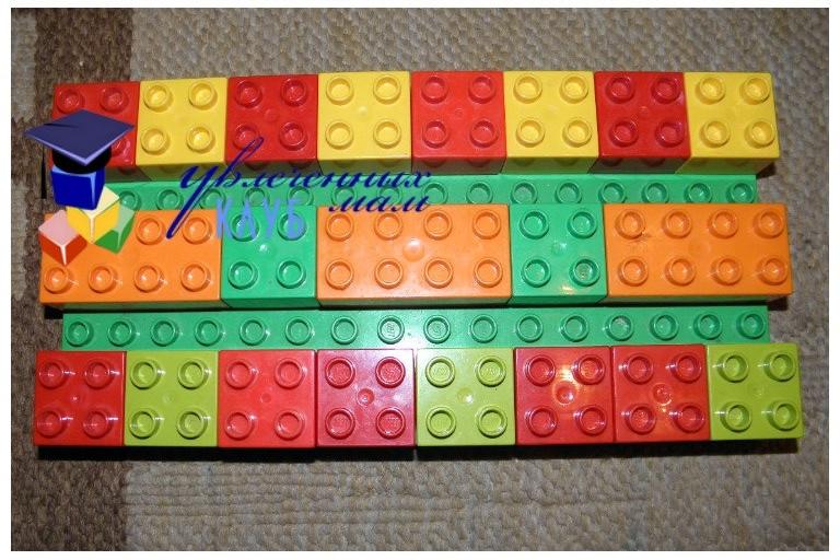 Провожаем осень с Lego Duplo - Ковровые дорожки