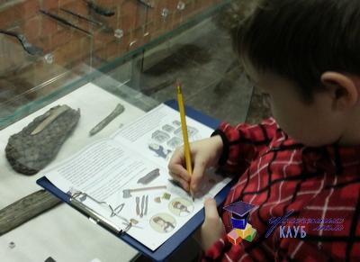 семейное путешествие - музей археологии Москвы