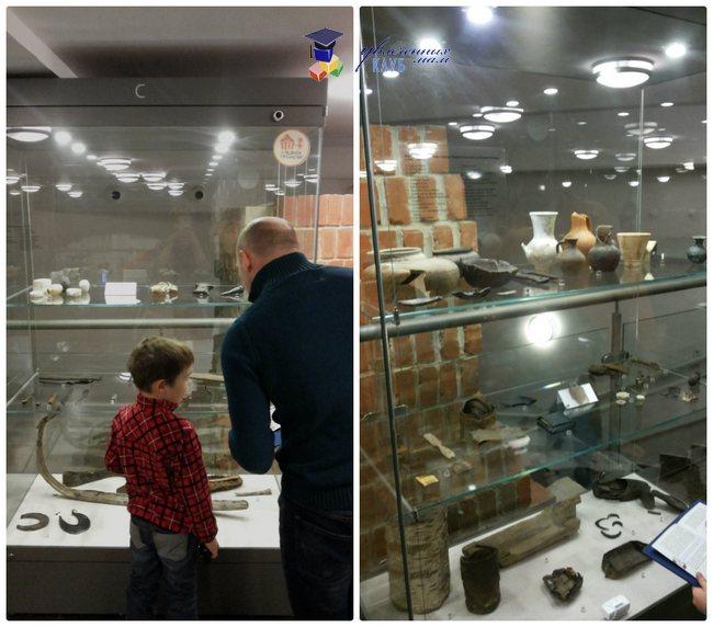 музей археологии начало