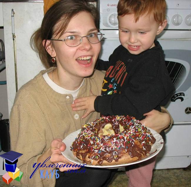 помощь детей на кухне