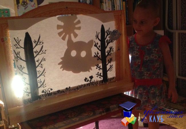 Тематическая неделя «Кукольный театр» День 4. Театр теней