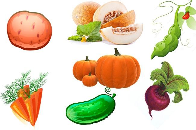 """Игра """"Цвет овощей"""""""