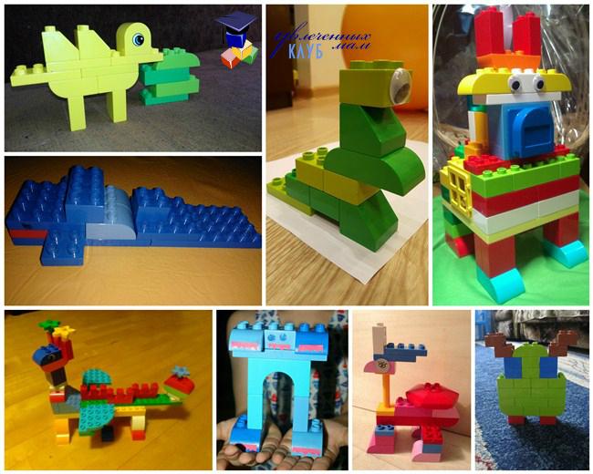 Необычные животные из Lego DUPLO