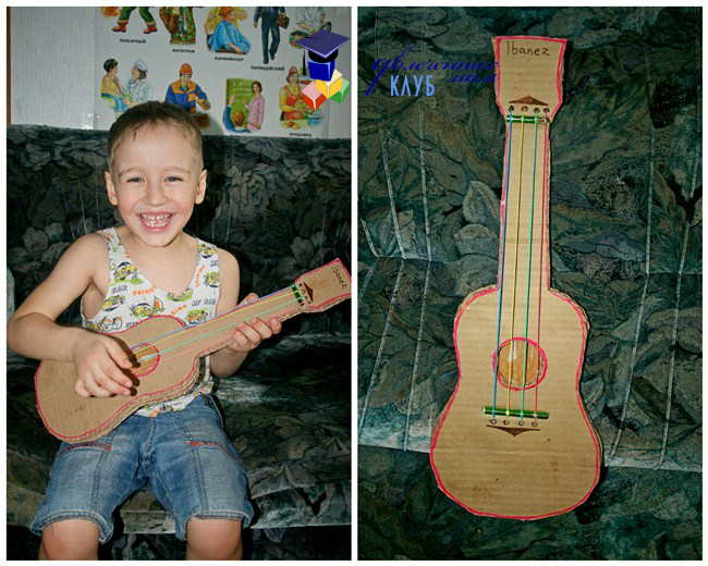 Гитара своими руками